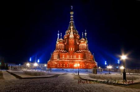 Свято-Михайловский собор в Ижевске