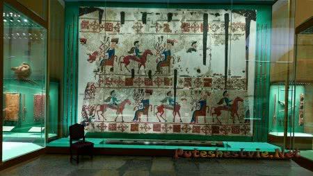 Зал культуры и искусства алтайских кочевых племен