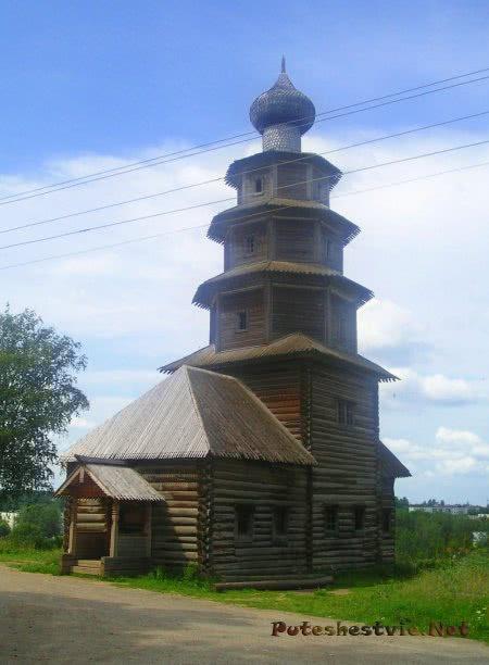 Тихвинская деревянная церковь