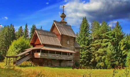 Музей деревянного зодчества в Васильево