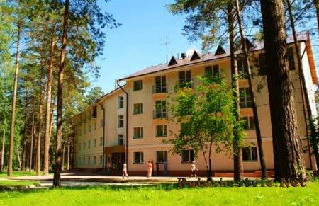 Курорты Сосновка и Морозово под Новосибирском