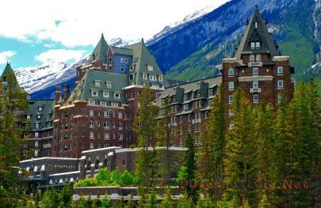 Отель Fairmont Banff Springs в Банф