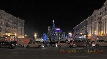 Тверская улица и Тверская площадь