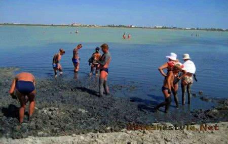 Пляж Монайского озера