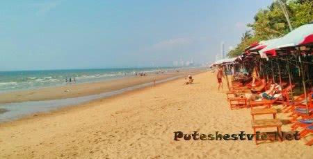 Пляж Jomtien Beach