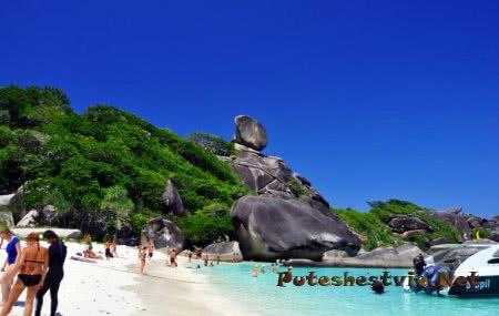 Пляжи Симиланских островов малочисленны