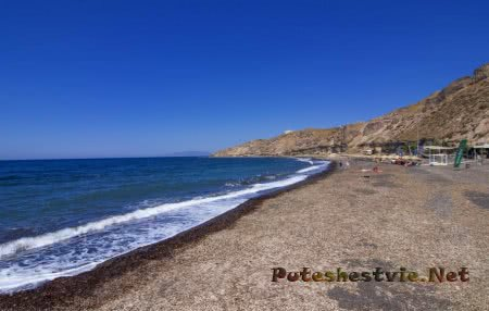 Пляж Exo Gialos