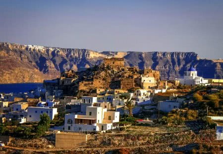 Поселок Акротири