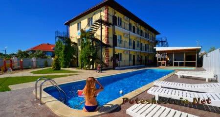 Жилье на Тамани в частном секторе и отелях