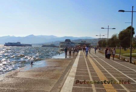 Город-курорт Измир в Турции