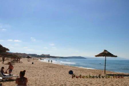 Пляж острова Табарка