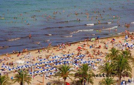 Пляж Эль Постигет