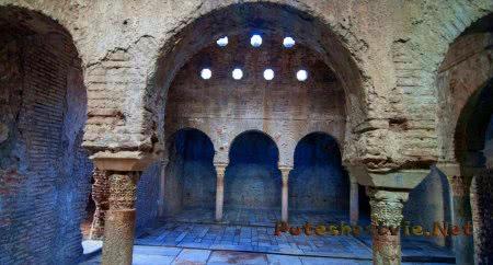 Арабские бани Гранады