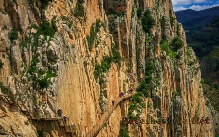 Королевская тропа (El Camino del Rey) в Испании