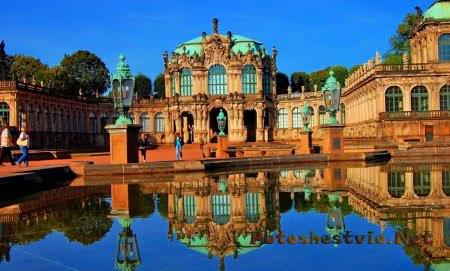 Дворец Zwinger в Дрездене