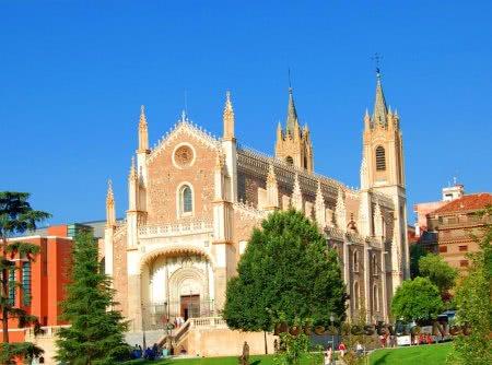 Церковь Сан-Херонимо-эль-Реаль