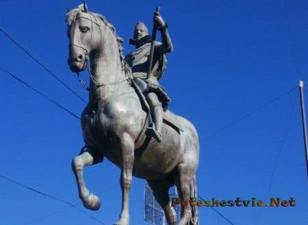 Статуя короля Филиппа Третьего