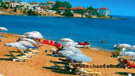 Восточные пляжи Сиде