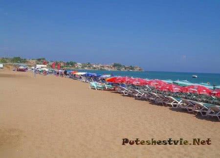 Западные пляжи Сиде