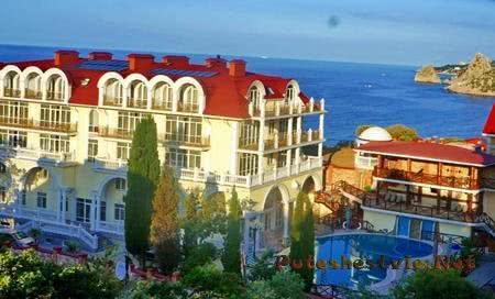 Лучшие отели и гостиницы Крыма