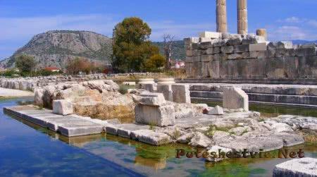 Древний город Летоон