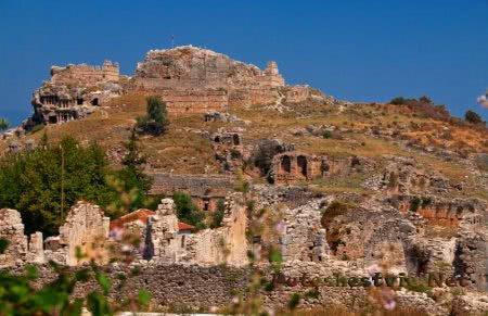 Древний город Тлос
