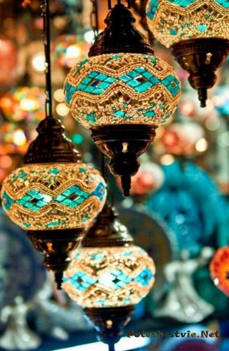 Турецкие украшения для интерьера