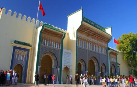 Королевский дворец «Дар эль-Махзен»