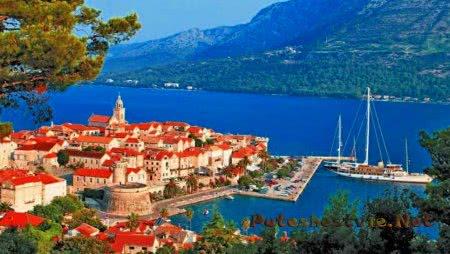 Город Пула в Хорватии