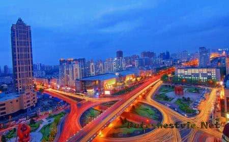 Город Харбин в Китае