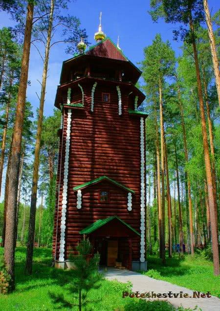 Монастырь Ганина Яма в Екатеринбурге