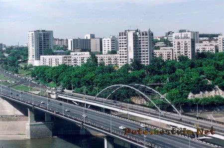 Город Уфа в Башкирии