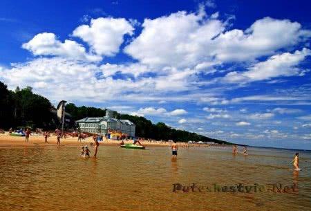 Курорты Латвии