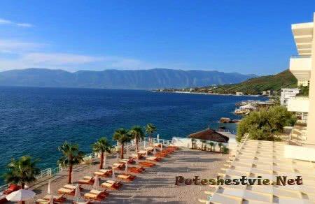 Влера - город-курорт в Албании