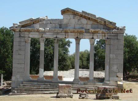 Руины античного города Аполлония