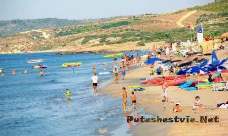 Пляжи Измира