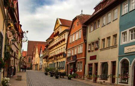 Ротенбург-об-дер-Таубер – средневековый город Германии