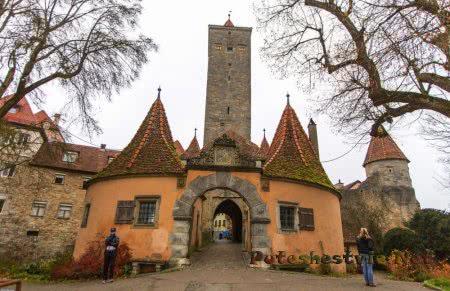 Замковые ворота Ротенбурга