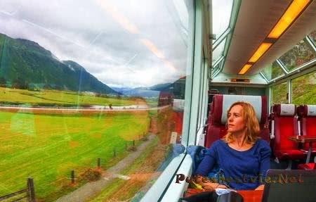 В какие страны можно доехать на поезде?