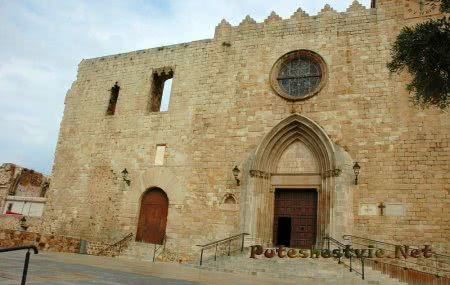 Церковь Санта-Мария (Iglesia de Santa María)