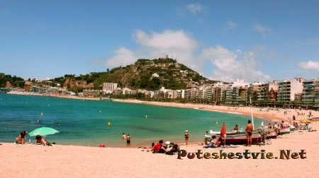 Пляж Плайя-де-Бланес (Playa de Blanes)