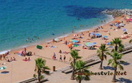 Пляж Са Абаннель (Playa de s'Abanell)