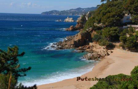 Пляж Санта Анна (Playa de Santa Anna)
