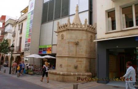 Готический фонтан Сан-Хуан (Fuente gótica San Juan)