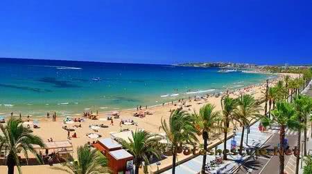 Отдых в городе Салоу в Испании