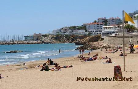 Пляж Сан Себастиа