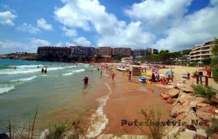 Пляж Капельянс