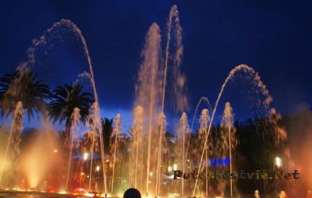 Кибернетический поющий фонтан