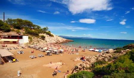Пляж Кала Фонт