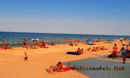 Отпуск в Кирилловке на Азовском море